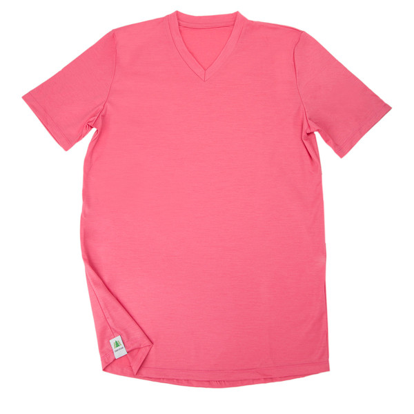 Who Wouldn't Want an $ 80 Pink T-Shirt (it's Merino)